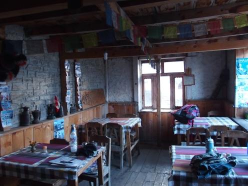 Dining room in Ghyaru
