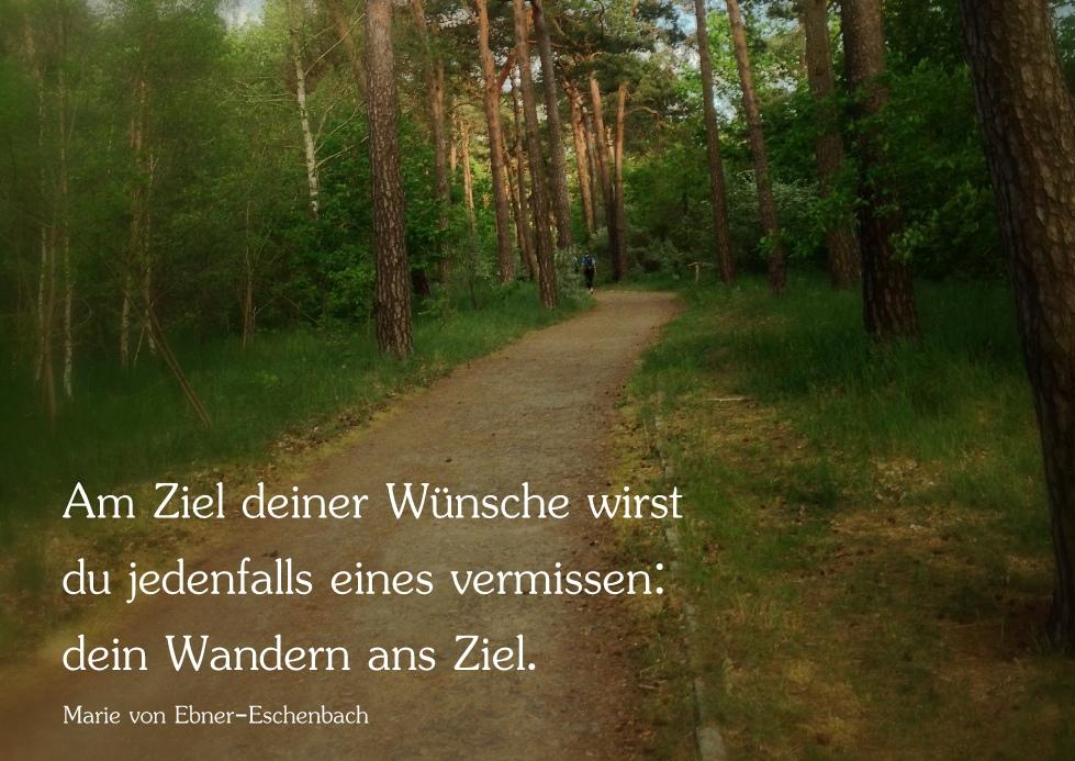 Ziel Wandern